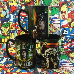 Buy Ceramic Mug Bob Marley Wailers Set Cup merchandise collectibles