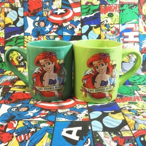Buy Ceramic Mug Ariel Mermaid Disney Cup merchandise collectibles