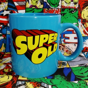 Buy Ceramic Mug Super Old Superman Fun Cup merchandise collectibles