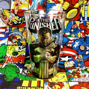 Buy Glassware Punisher Marvel Cup merchandise collectibles