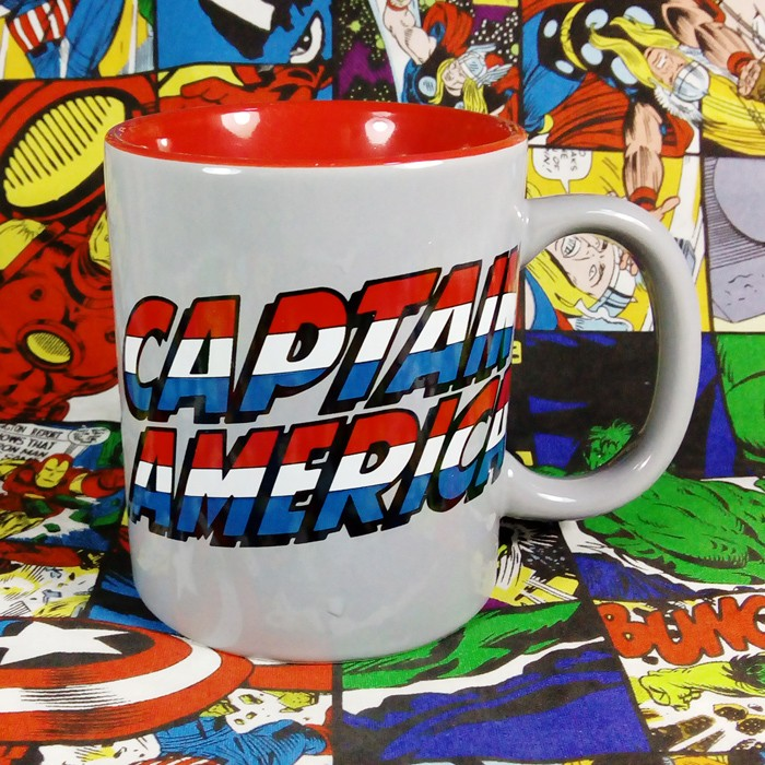 Buy Ceramic Mug Captain america Title Cup Merchandise collectibles
