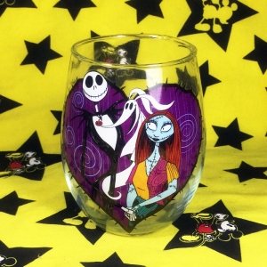 Buy Whiskey Glass Jack Skellington Tim Burton Cup merchandise collectibles