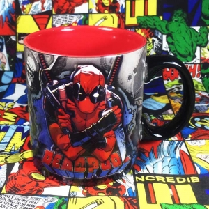 Buy Ceramic Mug Deadpool 2018 Universe Cup merchandise collectibles