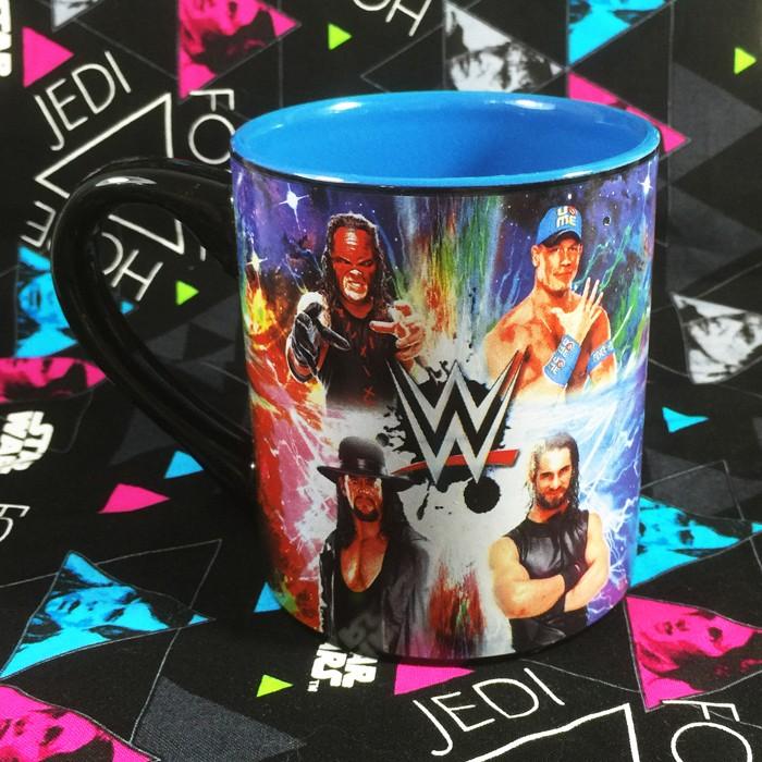 Buy Ceramic Mug Classic WWE 90s Wrestlemania Cup
