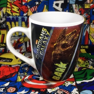 Buy Ceramic Mug Guardians of The gAlaxy Groot Cup merchandise collectibles