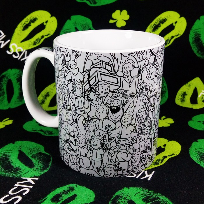 Buy Ceramic Mug Fallout VaultBoy Vault Boy Cup merchandise collectibles