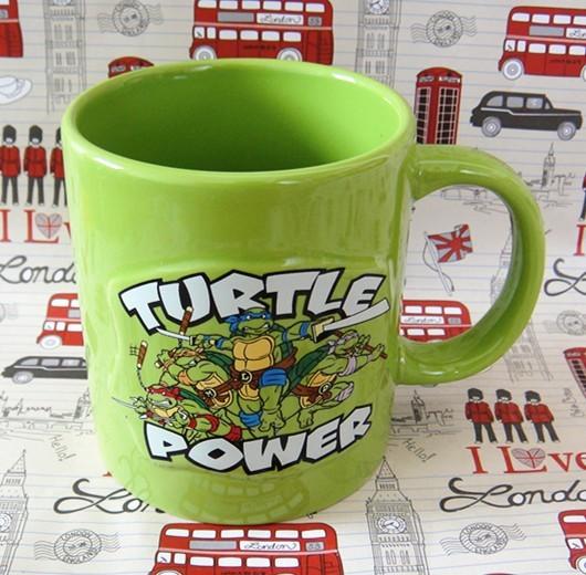 Buy Ceramic Mug Turtles Power TMNT Ninja Cup merchandise collectibles