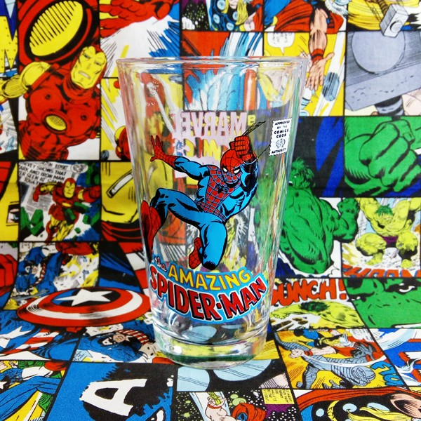 Buy Glassware Amazing Spider man Classic Cup merchandise collectibles