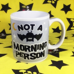 Buy Mug Not A Morning Person Cup merchandise collectibles