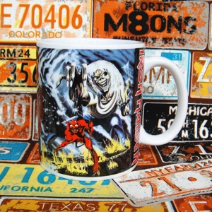 Buy Ceramic Mug Iron Maiden Band Art Cup Merchandise collectibles