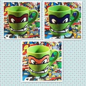 Buy Mugs Set Teenage Mutant Ninja Turtles TMNT Cup