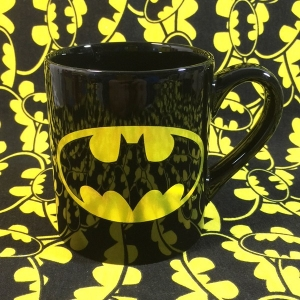 Buy Ceramic Mug Classic Batman Logo Emblem Cup merchandise collectibles