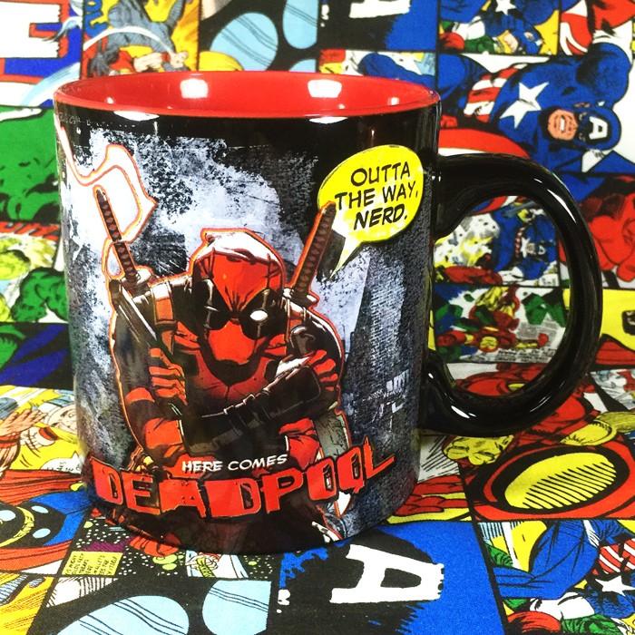 Ceramic mug deadpool comics series cup idolstore for Dead pool show in jaipur