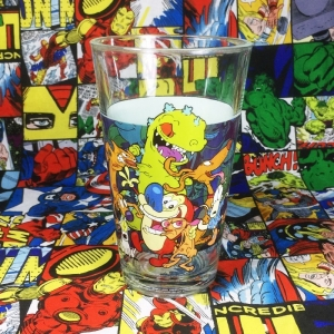 Buy Glassware Nickelodeon Cartoon Characters Cup merchandise collectibles