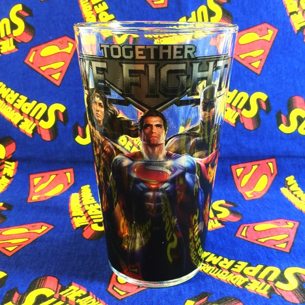 Buy Glassware Justice League Superman Cup merchandise collectibles