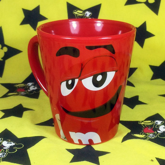 Buy Ceramic Mug M&M's Red Character Cup Merchandise collectibles