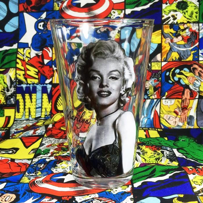 Buy Glassware B&W Marilyn Monroe Cup merchandise collectibles