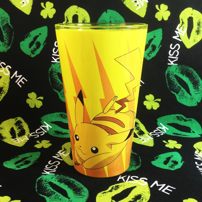 Buy Glassware Pokemon Pikachu Yellow Cup
