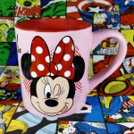 Buy Ceramic Mug Minnie Mouse Disney Pink Cup merchandise collectibles