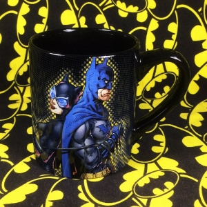 Buy Ceramic Mug Batman & Catwoman Cup merchandise collectibles