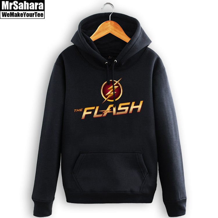 Collectibles Hoodie Tv Version Flash Logo Dc Pullover