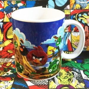 Buy Ceramic Mug Angry Birds Game Cup merchandise collectibles