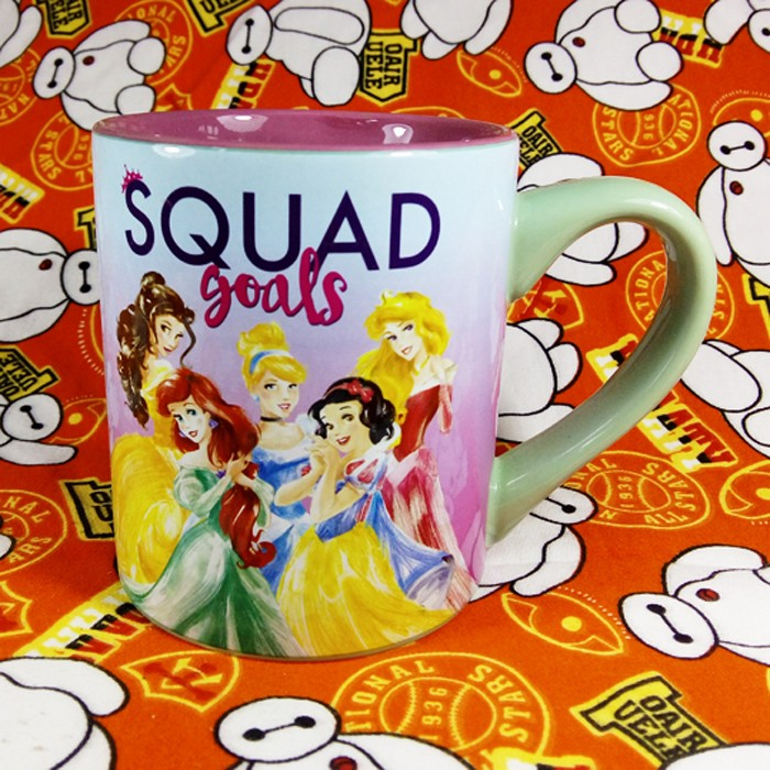 Buy Mug Squad Goals Disney Princess Cup merchandise collectibles