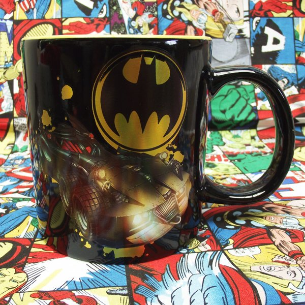 Buy Ceramic Mug Batman Batmobile DC universe Cup merchandise collectibles