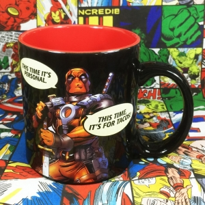 Buy Ceramic Mug Deadpool oComics quotes Cup merchandise collectibles