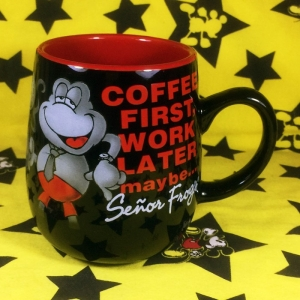 Buy Ceramic Mug Coffee First Work Later Cup merchandise collectibles