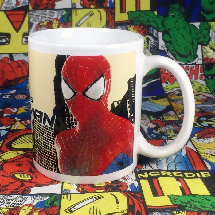 Buy Ceramic Mug Spider man Movie Ver Cup merchandise collectibles