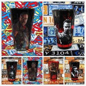 Buy Glassware Set Walking Dead Glasswarees Cup merchandise collectibles