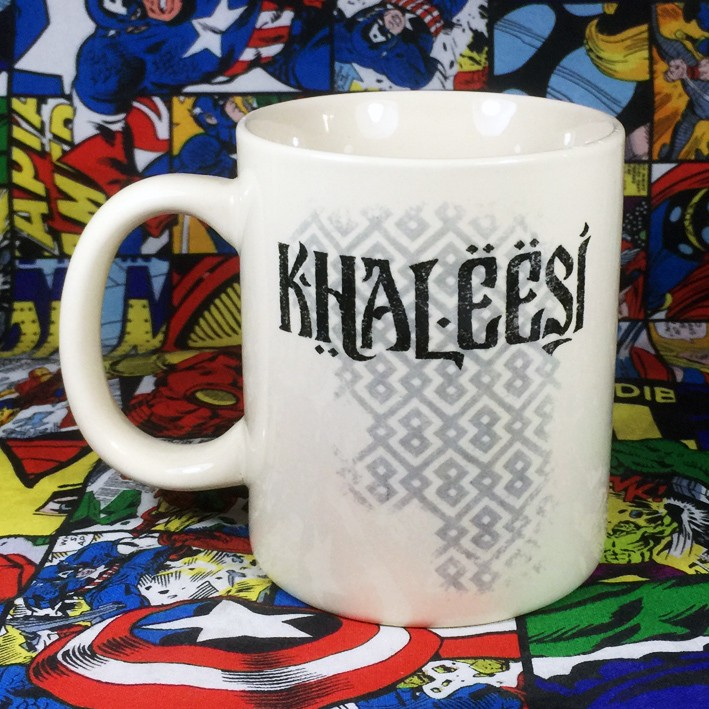 Buy Ceramic Mug Khaleesi Game of Thrones Cup merchandise collectibles