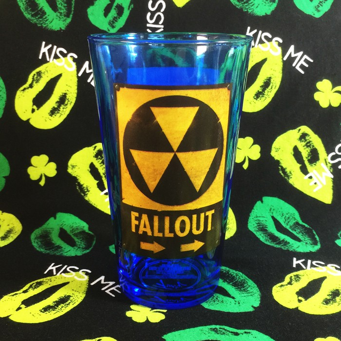 Buy Glassware Fallout Danger Sign radiation Cup merchandise collectibles