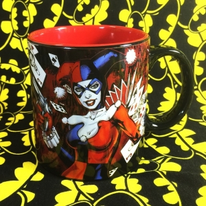 Buy Ceramic Mug Harley Quinn Classic DC Cup merchandise collectibles