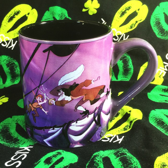 Buy Ceramic Mug peter pan Disney Cup merchandise collectibles