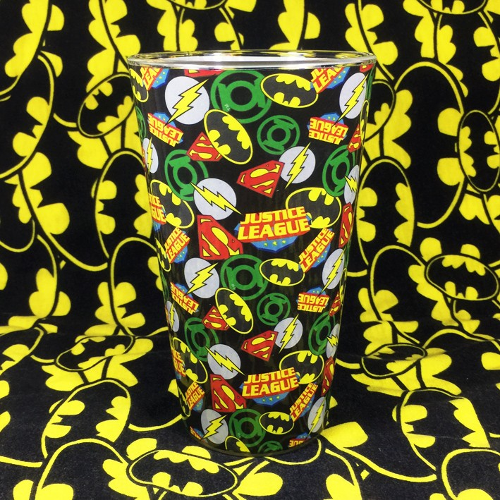 Buy Glassware Justice League Logos Cup merchandise collectibles