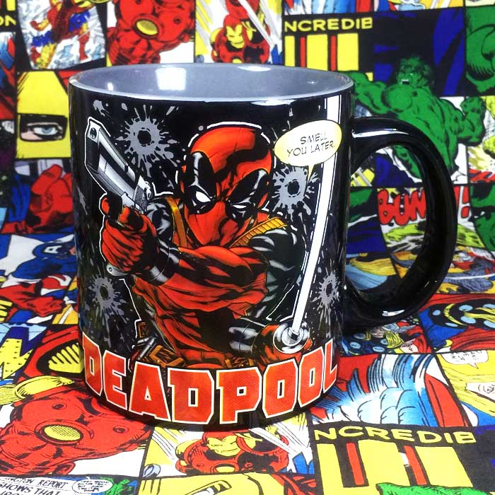 Buy Ceramic Mug Deadpool Nerd Marvel Cup Merchandise collectibles