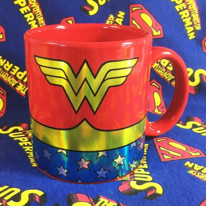 Buy Ceramic Mug Wonder Woman Costume Cup merchandise collectibles