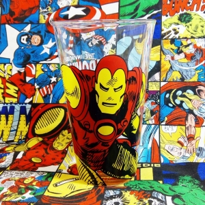 Buy Glassware Iron Man Comics Avengers Cup Merchandise collectibles