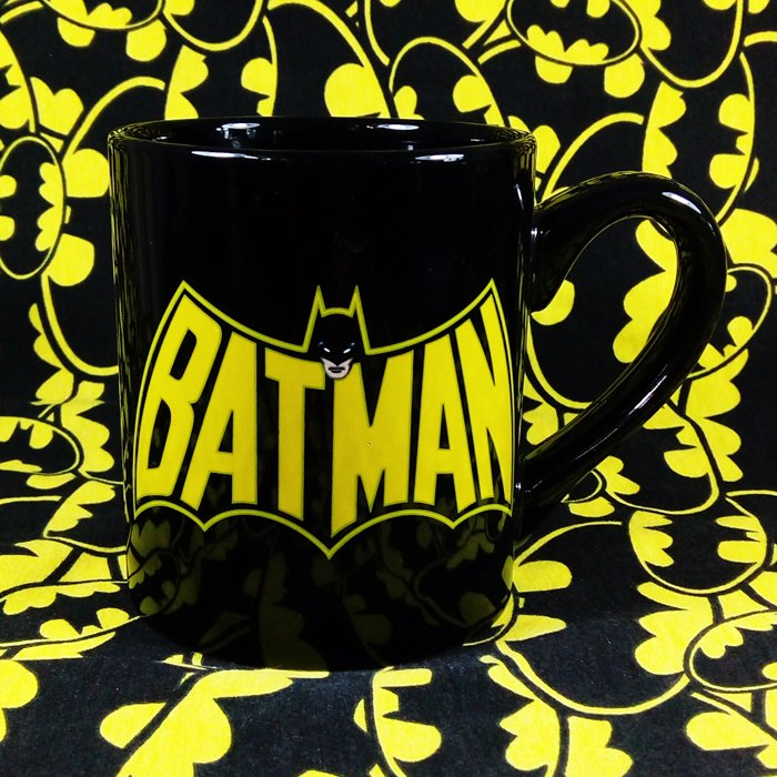 Buy Ceramic Mug Batman Retro Classic Logo Cup