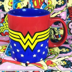 Buy Ceramic Mug Wonder Woman Logo Cup merchandise collectibles