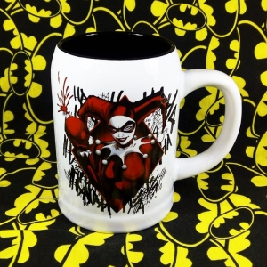 Buy Ceramic Mug Big Harley Quinn DC Cup merchandise collectibles