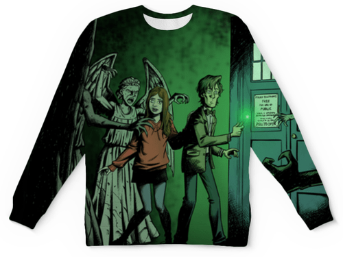 Buy Mens Sweatshirt 3D: Visual Animation ARt Doctor Who Matt smith Merchandise collectibles