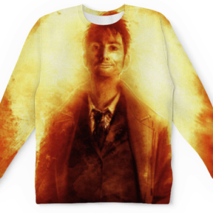 Buy Mens Sweatshirt 3D: Visual Art Doctor Who David Tennant Merchandise collectibles