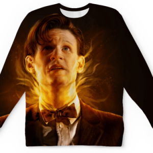 Buy Mens Sweatshirt 3D: Time Vortex Visual Doctor Who Matt Smith Merchandise collectibles