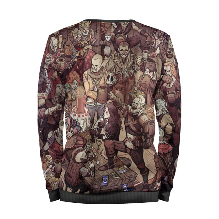 Merch Sweatshirt The Witcher All Characters