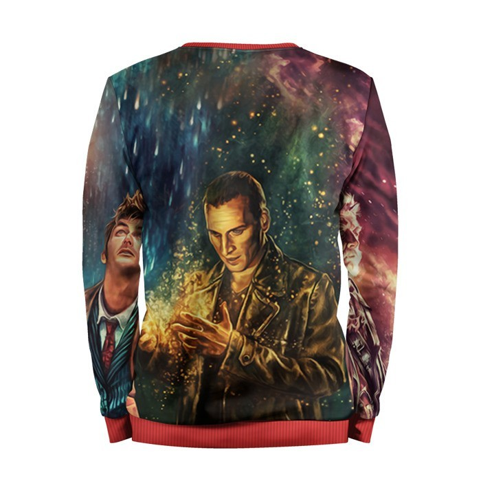 Collectibles Sweatshirt Dr. Who Art Doctor Who 9Th 10Th 12Th