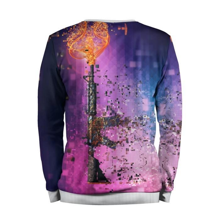 Merchandise Sweatshirt Cs Go Counter Strike M4A4 Pixels