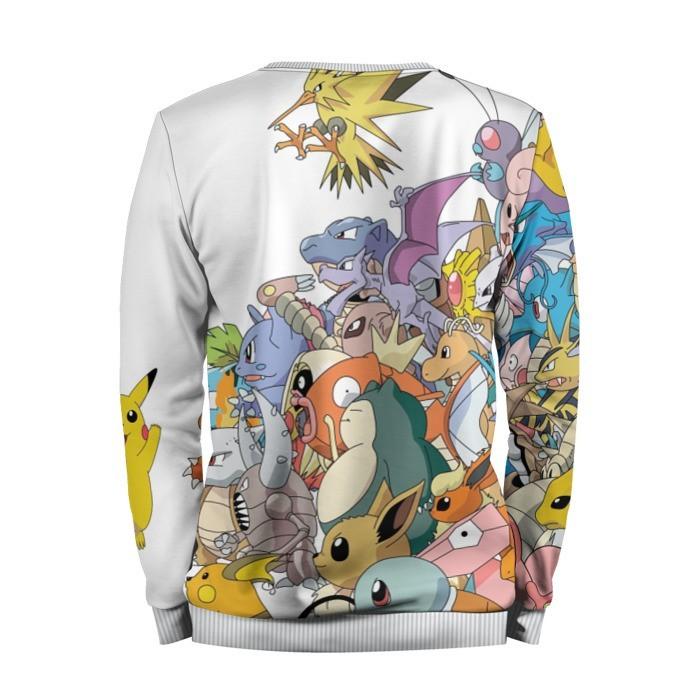Merchandise Sweatshirt Pokemon Go Catch Them